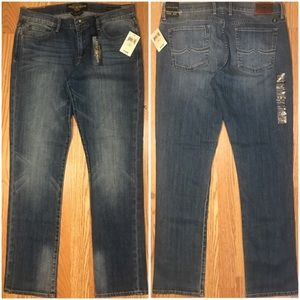 NWT LUCKY SWEET'N STRAIGHT MID RISE JEANS SZ 31X32
